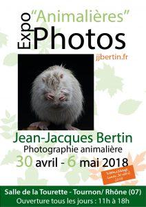 photos animalières drôme jj bertin.fr 2019 affiche exposition la tourette tournon 2018